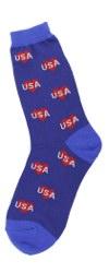 USA Hearts Women's Socks